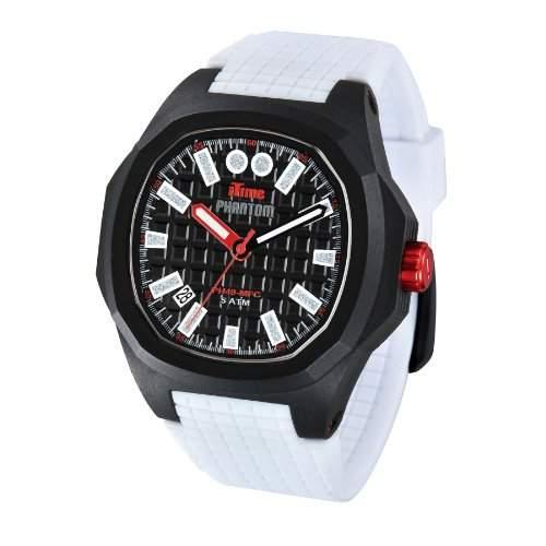 iTime Unisex-Armbanduhr PH4900-PHD1 Analog Silikon Weiss PH4900-PHD1