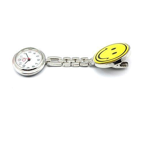Krankenschwester Uhr Kittel Uhr Smiley Watch Schwestern Uhr Gelb