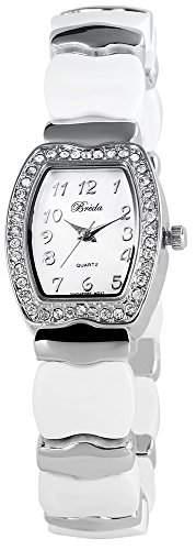 Adrina Damen-Armbanduhr Analog Quarz verschiedene Materialien 100422000009