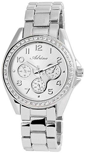 Adrina Damen Armbanduhr Analog Quarz verschiedene Materialien RP4852250002