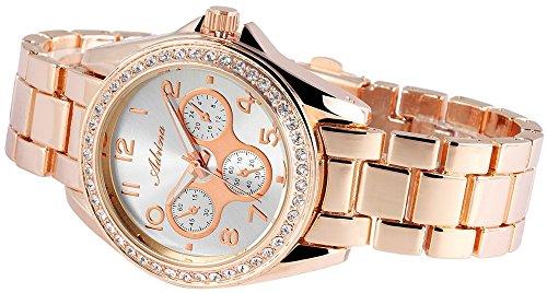Adrina Damen Armbanduhr Analog Quarz verschiedene Materialien RP4853250002