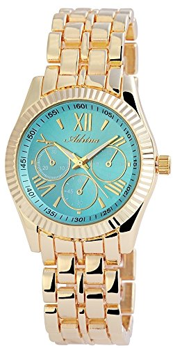 Adrina Damen Armbanduhr Analog Quarz verschiedene Materialien RP4860350003