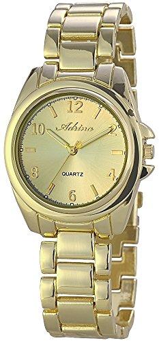 Adrina Damenuhr mit Metallarmband Gelb Uhr Armbanduhr RP4610400002