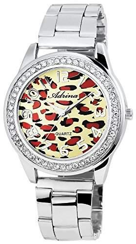 Adrina Damen-Armbanduhr Analog Quarz verschiedene Materialien RP4732250001