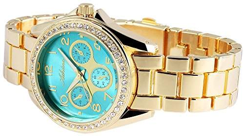 Adrina Damen-Armbanduhr Analog Quarz verschiedene Materialien RP4850350002