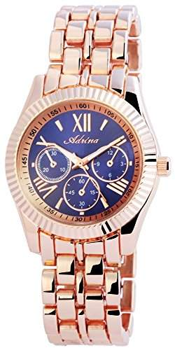 Adrina Damen-Armbanduhr Analog Quarz verschiedene Materialien RP4863300003