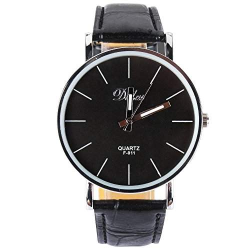YESURPRISE PU Leder Quarz Damenuhr Kinder Damen Uhr Armbanduhr Geschenk Xmas Gift watch reloj de pulsera montre de F4