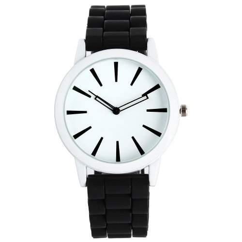 YESURPRISE Damen Herren Silikon Armbanduhr Uhr Chronograph Quarzuhr Silicone Quartz Wrist Watch Gift #1
