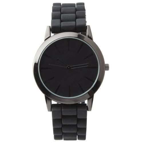 YESURPRISE Damen Herren Silikon Armbanduhr Uhr Chronograph Quarzuhr Silicone Rubber Quartz Wrist Watch Gift #14