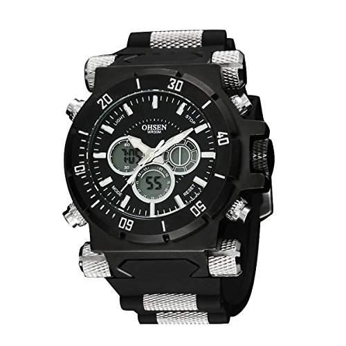 YESURPRISE Unisex Herren Kinder Uhr Digitaluhr Sportuhr Silikon Armbanduhr