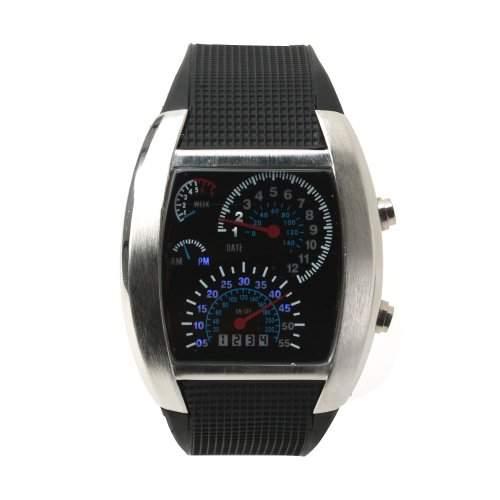 Yesurprise LED Uhr Damenuhr Herrenuhr Armbanduhr Sportuhr Armaturenbrett Stil Datum Geschenk Gift Watch reloj de pulsera montre de cadeau 01