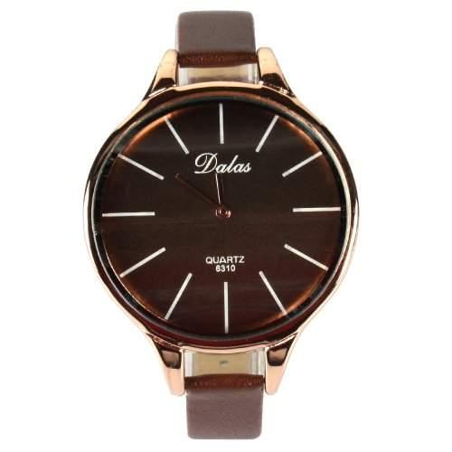 YESURPRISE PU Leder Quarz Damenuhr Kinder Damen Uhr Armbanduhr Geschenk Xmas Gift watch reloj de pulsera montre de C4