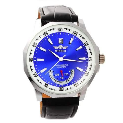 YESURPRISE Uhr Automatik Meschaniksche Uhr Herrenuhr Automatikuhr Leder Armbanduhr Watch Geschenk Gift