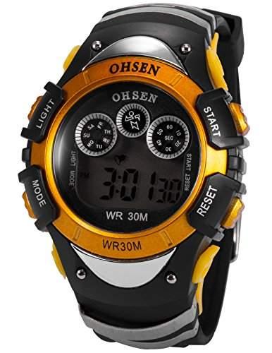 OHSEN LED Digital Sport Datum Herrenuhr Armbanduhr Sportuhr Quarzuhr Uhr OHS047