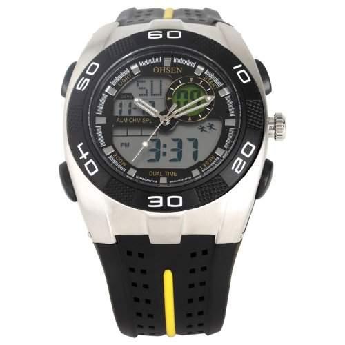 AMPM24 LED Digital Sport Datum Herrenuhr Armbanduhr Sportuhr Quarzuhr Uhr OHS091
