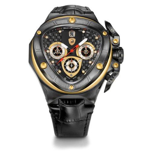 Tonino Lamborghini Spyder 8955 schwarz Chronograph Automatik Uhr