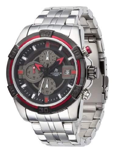 Auersheim Herren-Armbanduhr Chronograph Andira Rot
