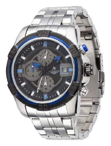 Auersheim Herren-Armbanduhr Chronograph Andira Blau
