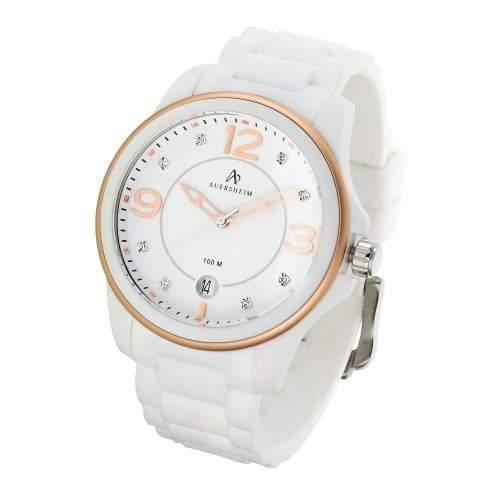 Auersheim Damen-Armbanduhr Belynia Rose Zirkoniasteine