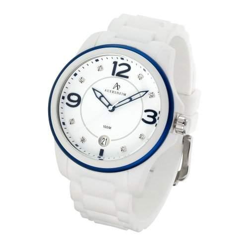 Auersheim Damen-Armbanduhr Belynia Blau Zirkoniasteine