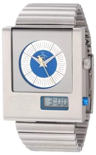 Original Penguin Herren-Armbanduhr edelstahl Silber OP3013SL