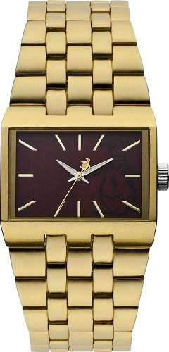 Original Penguin Men- Armbanduhr Analog Quarz Gold OP5007GD Armband