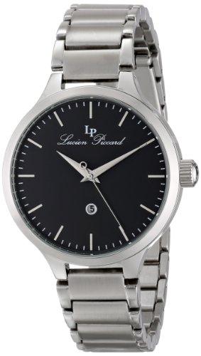 Lucien Piccard Lleida Damen 38mm Silber delstahl Armband Gehaeuse Uhr 12917 11