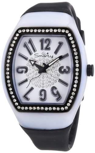 Smarty Watches Damen-Armbanduhr CHIC Analog Quarz Silikon SW130F