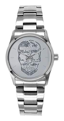 Zadig Voltaire &ZV 031FM-Rock-Armbanduhr Quarz Analog Stahl Silber