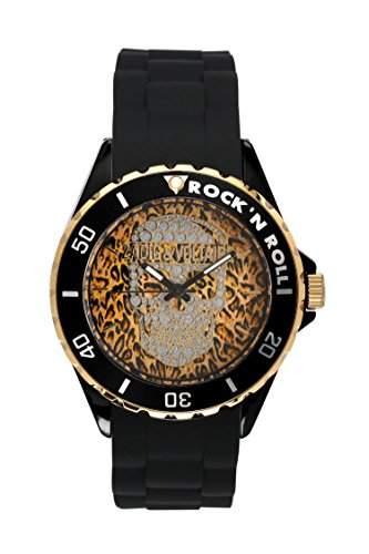Zadig & Voltaire Unisex-Armbanduhr Pop Art Analog Quarz Schwarz ZV 0441UA