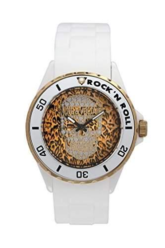 Zadig & Voltaire Unisex-Armbanduhr Pop Art Analog Quarz Weiss ZV 0441UB
