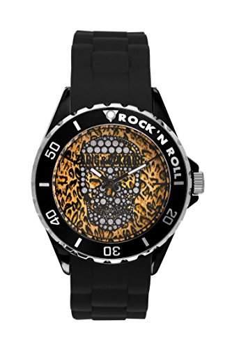 Zadig & Voltaire Unisex-Armbanduhr Pop Art Analog Quarz Schwarz ZV 044UA