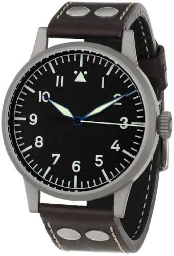 Laco 1925 Herren-Armbanduhr Laco Pilot 861750 Analog Leder Braun 861750