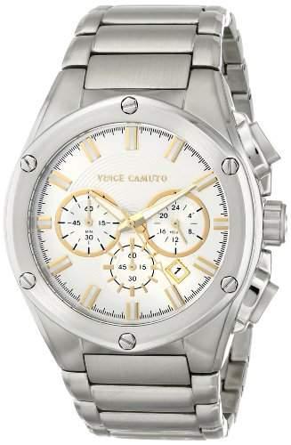 Vince Camuto Herren-Armbanduhr Analog Quarz Edelstahl VC1065SVSS