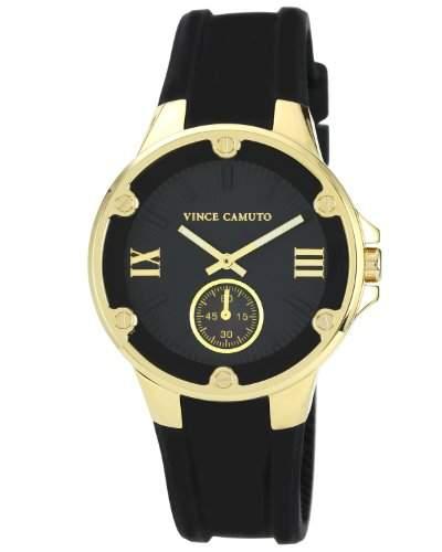 Vince Camuto Damen-Armbanduhr Analog Quarz Resin VC5078BKBK