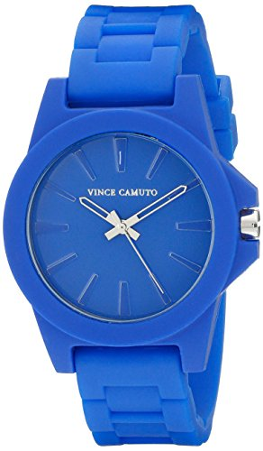 Vince Camuto Damen Armbanduhr Analog Quarz Blau VC 5247CBCB
