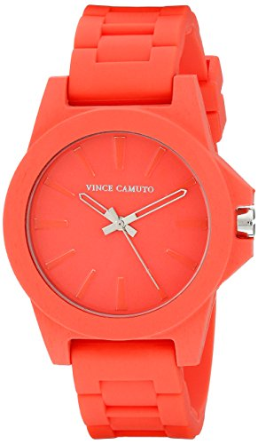 Vince Camuto Damen Armbanduhr Analog Quarz Rot VC 5247COCO