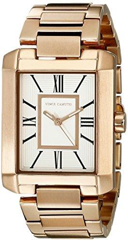 Vince Camuto Damen Armbanduhr Analog Quarz Edelstahl VC 5228SVRG