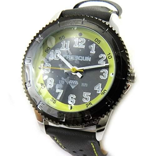 Armbanduhr kind Freegungrau gruen