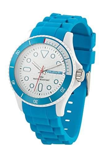 Freegun EE5096 Jungen-Armbanduhr Regate Quarz analog Silikon Blau