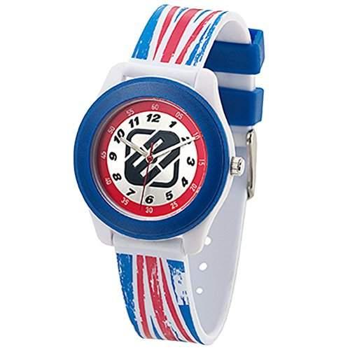 Freegun EE7026 Jungen-Armbanduhr Alyce Quarz analog Kunststoff, mehrfarbig