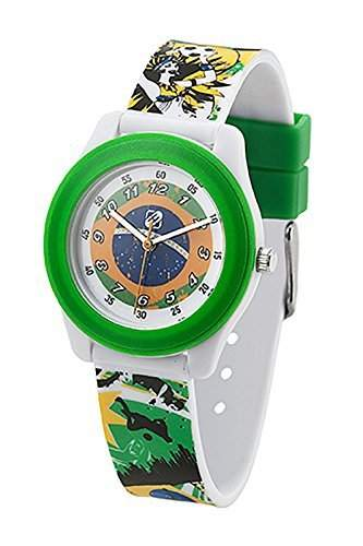 Freegun EE7027 Jungen-Armbanduhr Alyce Quarz analog Kunststoff, mehrfarbig