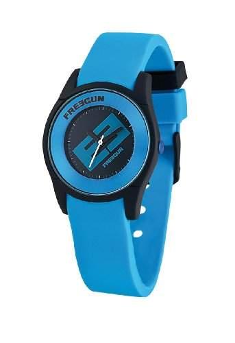 Freegun Unisex-Armbanduhr Analog Silikon mehrfarbig EE5001