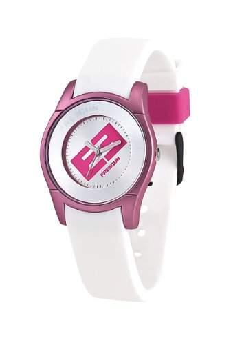 Freegun Unisex Erwachsene-Armbanduhr EE5002 Analog Silikon Mehrfarbig