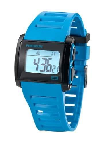 Freegun Unisex-Armbanduhr Digital Kunststoff blau EE5021