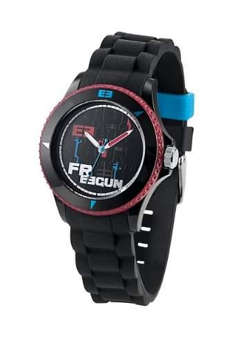 Freegun Unisex-Armbanduhr Analog Silikon mehrfarbig EE5040