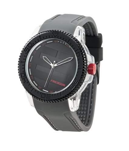 Freegun Herren-Armbanduhr Analog Quarz Grau EE5046