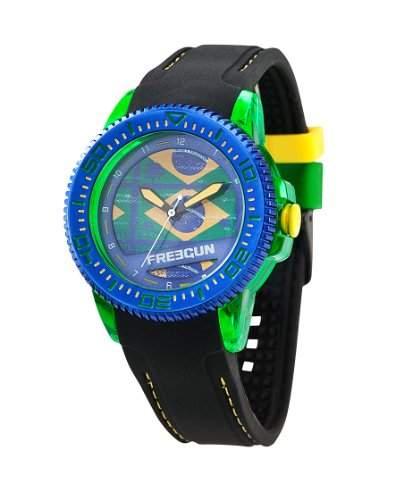 Freegun Unisex-Armbanduhr Analog Quarz Schwarz EE5050