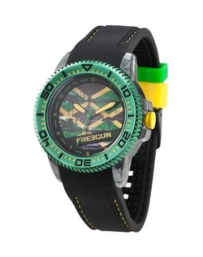 Freegun Unisex-Armbanduhr Analog Quarz Schwarz EE5055