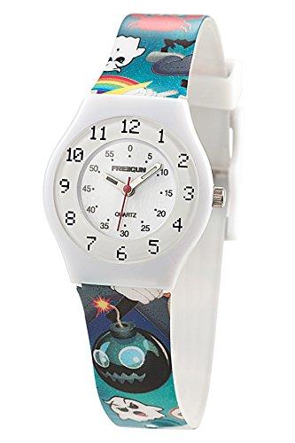Freegun ee5175 Zeigt Jungen Quartz Armbanduhr EE5002 Analog Kunststoff mehrfarbig